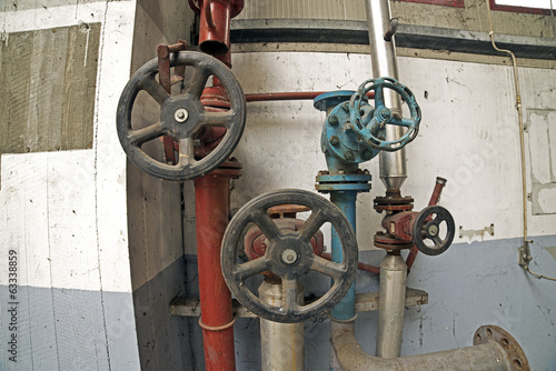 Old industrial valve