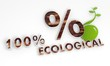 sustainable percent symbol