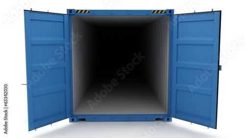 Open Shipping Container - 63342030