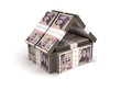 Real Estate Concept Japanese Yen