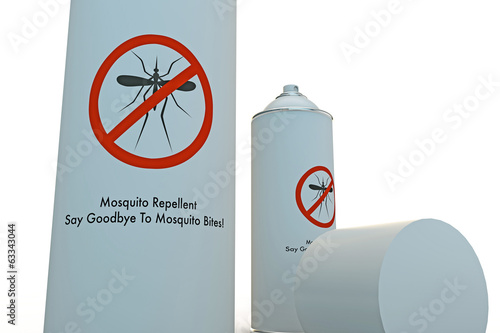 mosquito spray can