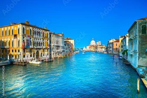 Papiers peints Venise Venice grand canal, Santa Maria della Salute church landmark. It