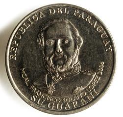 Francisco Solano López - Paraguay グアラニー (通貨)