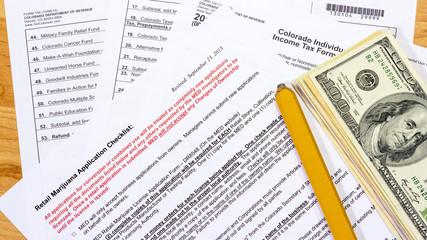 Colorado tax forms including Marijuana