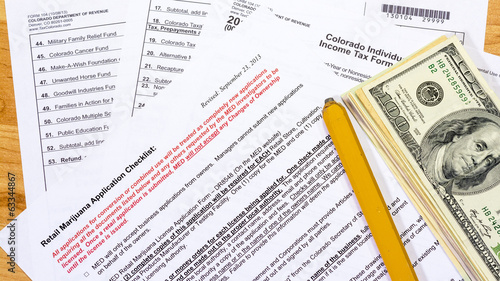 Colorado tax forms including Marijuana