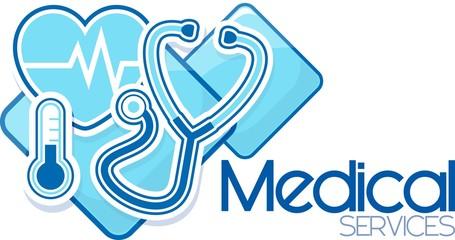 medical services vector design