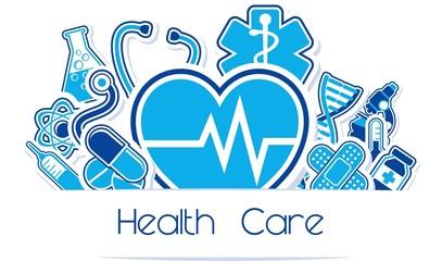 health care vector design