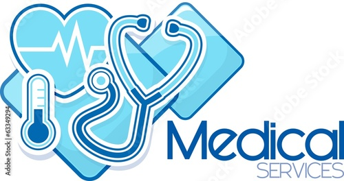 medical services vector design