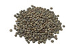 Heap of du Puy lentils