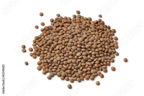 Heap of mountain lentils