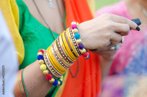 colorful bangles, wedding, bride , Rajasthan, India