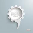 Speech Bubble Gear