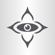 Elegant eye icon