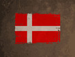 beautiful flag design of denmark
