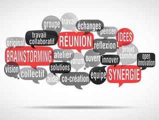 nuage de mots bulles : brainstorming (cs5)
