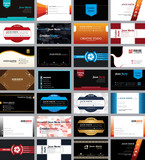 Fototapety Business cards template