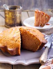 Divine ginger cake