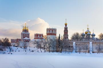 Novodevichy nunnery . Moscow