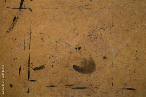 Stained plywood background