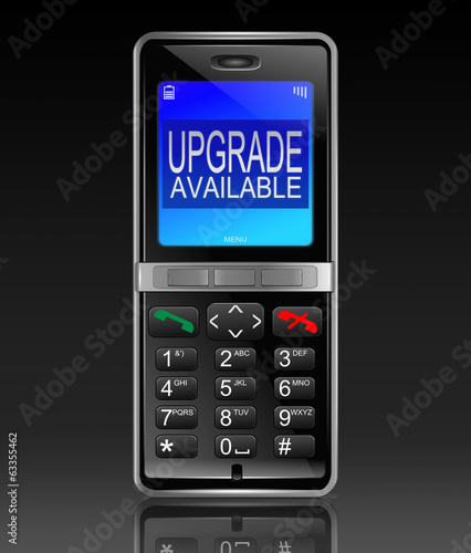 Phone upgrade concept.