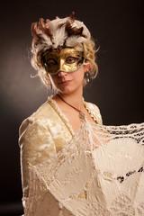 Venice Carnival disguise
