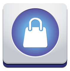 Handbag - Vector icon isolated