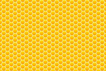 Gelb-oranges Wabenmuster