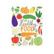 vector vegetables illustration