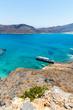 Gramvousa island near Crete, Greece. Balos beach.