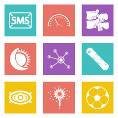 Color icons for Web Design set 40