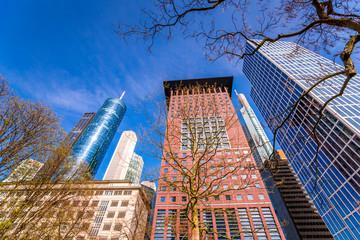 Wolkenkratzer Frankfurt am Main