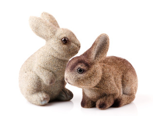 couple of easter bunnies