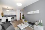 Modern interior design living room - 63363067