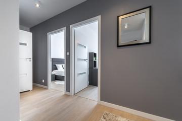 Corridor in modern apartment