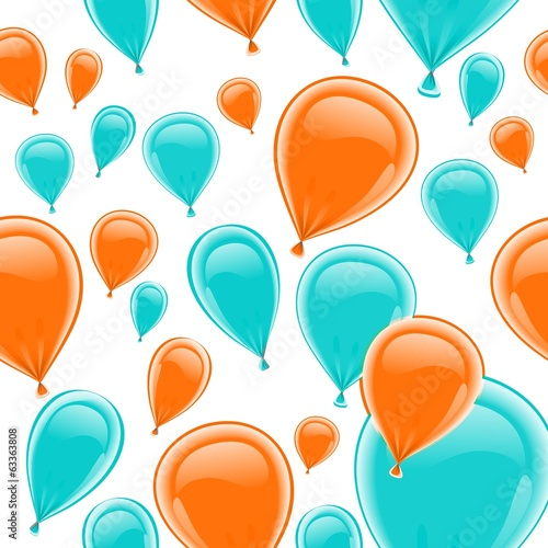 Background balloons