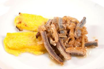 aringhe con polenta