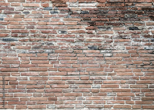 Old bricks wall texture background