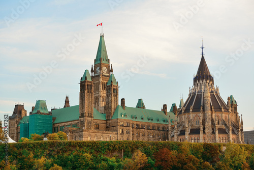 Ottawa Parliament Hill building