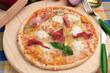 Pizza 4 formaggi e speck