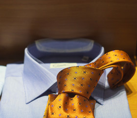 Necktie and shirt