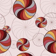 background with rotating circles