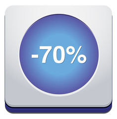 70 percent off