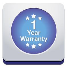 year warranty button