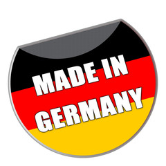 Label Made in Germany - g758