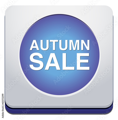 Autumn sale button