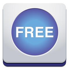 free web glossy icon
