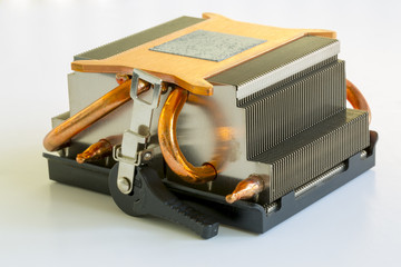 Heat Sink for a Computer Microchip