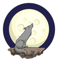 Woolf hauling at a fool moon