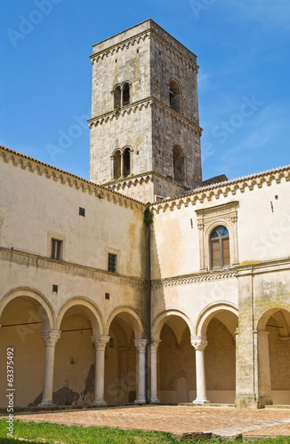 Abbey of St. Michele Arcangelo. Montescaglioso. Basilicata.