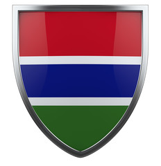 Gabmbia flag
